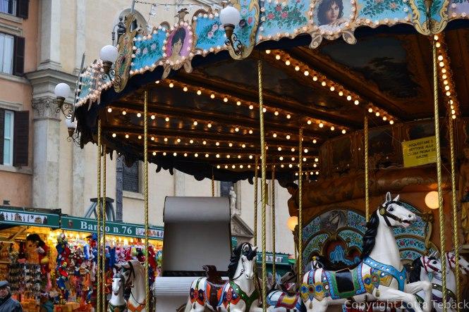 Karusell på Piazza Navona