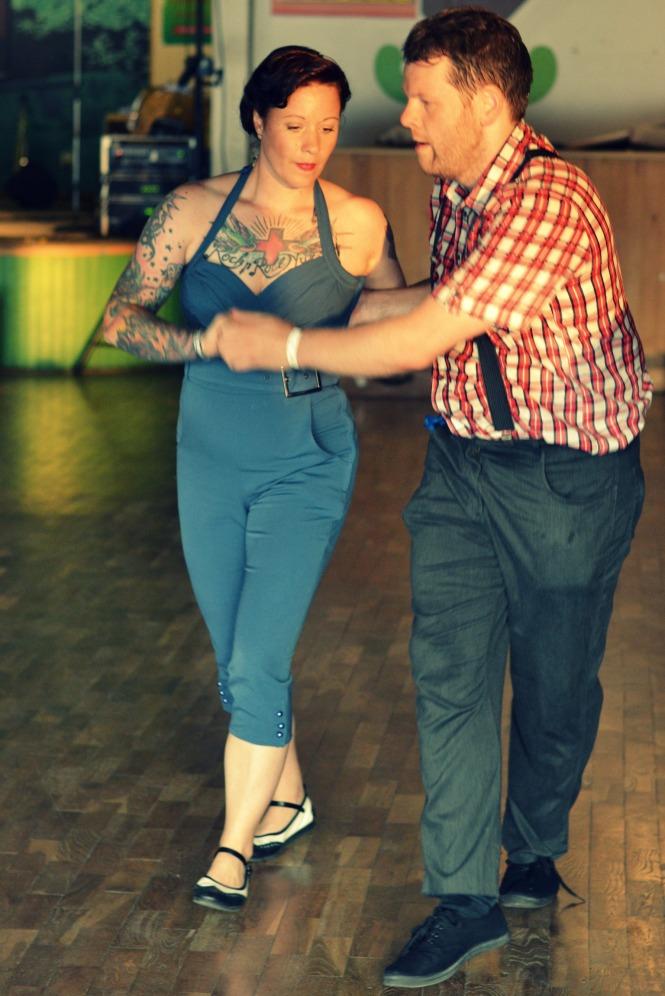 Lindy hop dans